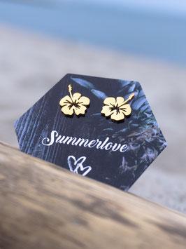 SUMMER 2021 | Hibiskusblüten Ohrstecker