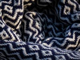 WEB:STOFF Tuch dunkelblau