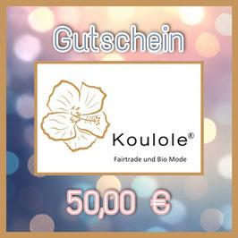 Gutschein Digital - 50,00 €