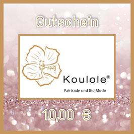 Gutschein Digital - 10,00 €