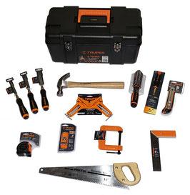 Kit básico de herramientas manuales para carpintería