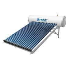 Instalación de calentador solar suministrado por Green Architecture