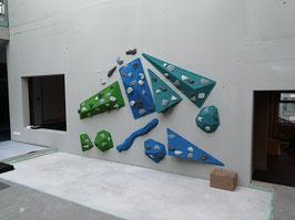 Aufsatzvolumen Boulderwand