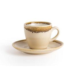 Olympia Kiln Espresso Tasse Sandstein