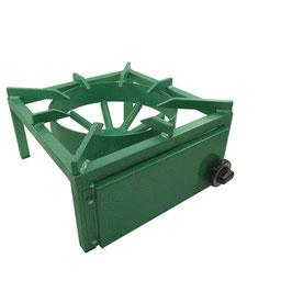 Tischkocher 400B (Erdgas, Propangas) mit 1 Brenner und 13 kW Leistung
