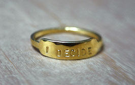 Collection AFFIRMATION - I decide -
