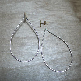 Collection ADAPTABLES - boucles d'oreilles  GAUFREES / Pendants GOUTTES