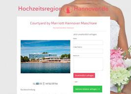 Anbieter-Präsenz auf Hochzeitsregion-Hannover.de