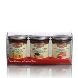 Extra Marmeladen Sammlung Geschenkbox 3x240g