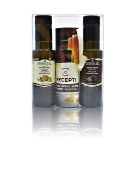 Schwarzes & Weißes Trüffelöl Geschenkbox