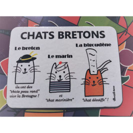 "Magnet  ""Chats bretons"""