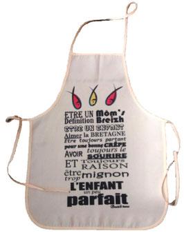 """Tablier enfants- """"Définition des môm's breizh"""" Breizh Nana"""