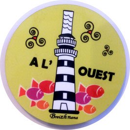 "Magnet "" Phare A l'ouest"""