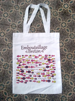 "Sac shopping "" Embouteillage breton"""