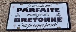Plaque immatriculation Bretonne