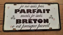 Plaque immatriculation Breton