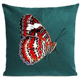 RED BUTTERFLY - SCANDINAVIAN GREEN