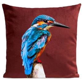 LITTLE BLUE BIRD - GARNET