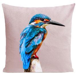 LITTLE BLUE BIRD - PASTEL PINK