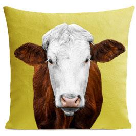 MRS COW - BRIGHT YELLOW