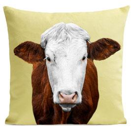 MRS COW - PASTEL YELLOW