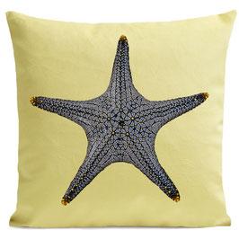 STAR FISH - PASTEL YELLOW