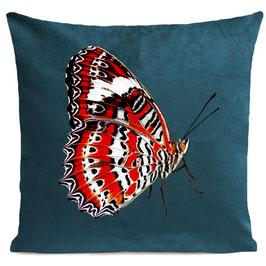 RED BUTTERFLY - SCANDINAVIAN BLUE