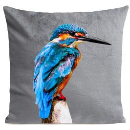 LITTLE BLUE BIRD - LIGHT GREY