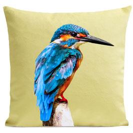 LITTLE BLUE BIRD - LIGHT YELLOW