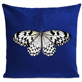WHITE BUTTERFLY  - KLEIN BLUE