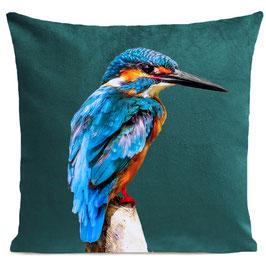 LITTLE BLUE BIRD - SCANDINAVIAN GREEN