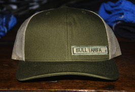THE TRUCKER - MILITARY GREEN and beige