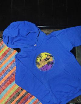 TROPICAL hoodie KIDS - ZIPLESS