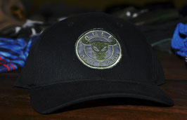 THE EVERGREEN - BLACK with military green logo