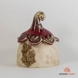 Keramik Dose Dekor Elfen