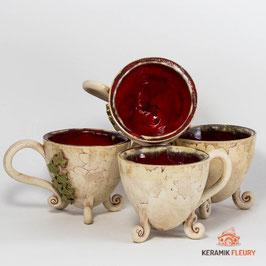 Keramik Tasse Dekor Elfen 1 Tasse