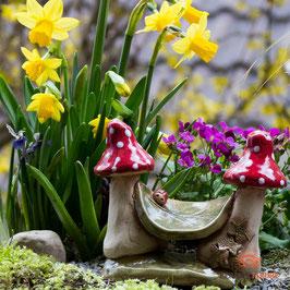 Keramik Hängematte für Miniaturgarten (1 Stück)