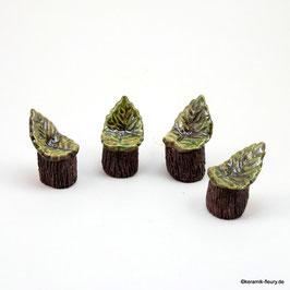Keramik Stuhl für Miniaturgarten