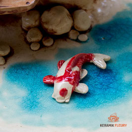 Keramik Fisch für Miniaturgarten (1 Stück)