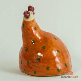 Keramik Figur Huhn