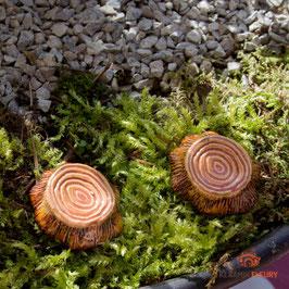Keramik Trittsteine für Miniaturgarten (1 Srück)