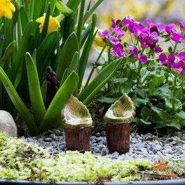 Keramik Stuhl für Miniaturgarten (1 Stück)