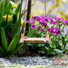 Keramik Schaukel für Miniaturgarten (1 Schauke - 1 Stück)
