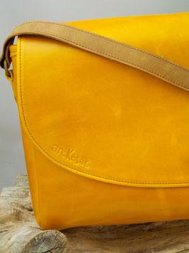 BESACE XL jaune/ bleu