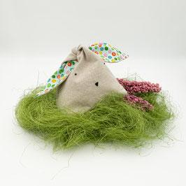 Osterhasenbeutel grün