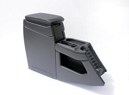 Mittelkonsole für VW T6.1 mit Standard Armaturenbrett und Gummi Fußboden Matte