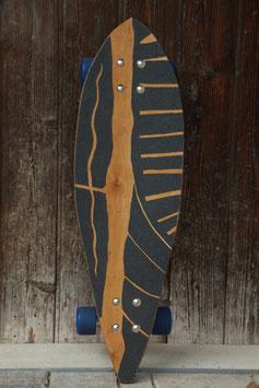 Slalomboard aus Kirschenholz