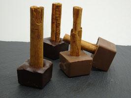 Gewürzte-Trinkschokolade Vollmilch 41%  Peru