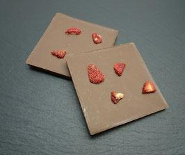 Vollmilch - Erdbeer
