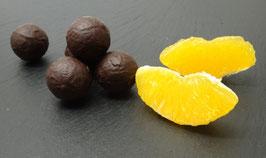Orangen-Truffes